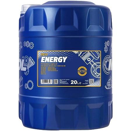 Mannol 60 Liter Garagenfass 7715 Sae 5w 30 Norm 504 00 507 00 C3 Longlife Auto