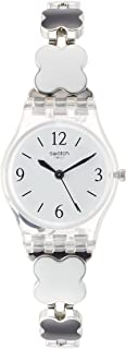 Swatch Women's Digital Quartz Watch with Stainless Steel Bracelet – LK367G