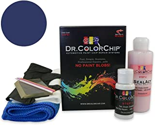 Dr. ColorChip Honda Civic Automobile Paint - Fiji Blue Pearl B-529P - Squirt-n-Squeegee Kit