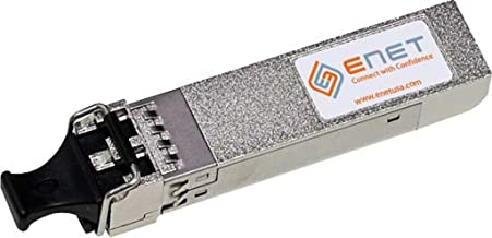 ENET Components | PAN-SFP-PLUS-SR-ENC | 10GBASE-SR SFP+ 850nm 300m MMF OEM Compatible Transceiver, Included