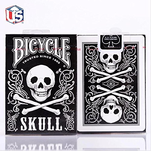 Doowops 1 Deck Skull Back Deck Bicycle Playing Cards Poker Size USPCC Limited Edition Sealed Magic Tricks Magic Card