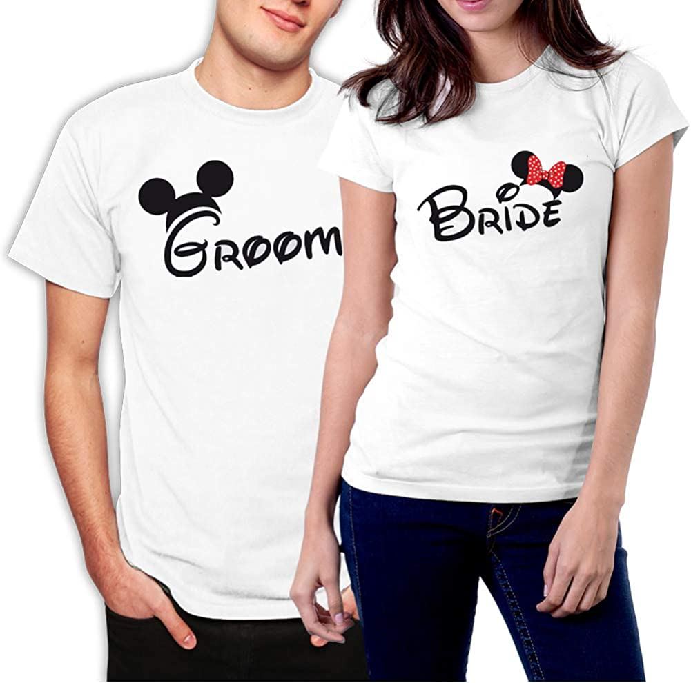 picontshirt Groom and Bride Ranking integrated 1st place Matching Couple Newlywed Shirts Detroit Mall