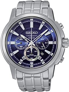 SSC387 Core Men's Silver Bracelet Band Blue Dial Watch