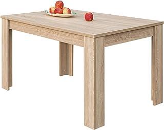 COMIFORT Mesa de Comedor- Mueble Extensible de Estilo Moderno Muy Resistente con Medidas de 140/190 x 90 x 78 cm Fabri...
