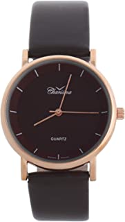 Charisma Casual Watch for MenLeather Band, Analog, S0355