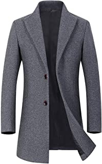 コート メンズ ロング ジャケット ビジネス ウールコート チェスターコート 秋冬 防寒 おおきいサイズ