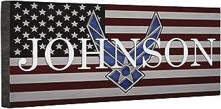 Hero Air Force Logo Flag CANVAS Home Décor