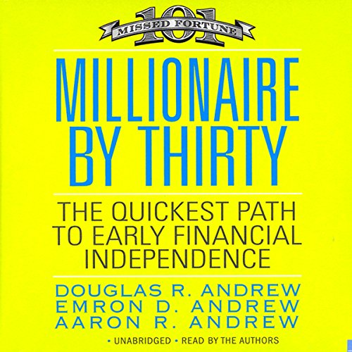 Millionaire by Thirty audiobook cover art