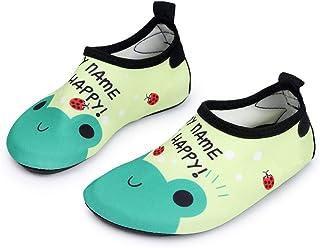 MISTMANIA Mens and Womens Kids Quick-Dry Water Shoes Barefoot Aqua Socks for Beach Swim Surf Yoga