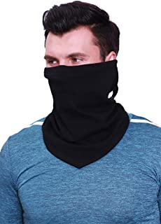 Arcweg Neck Warmer Drawstring Thermal Soft Face Snoods Elastic Windproof Men Women Breathable Neck Tube Scarf Universal Un...