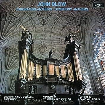 John Blow: Coronation Anthems & Symphony Anthems