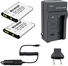 Bonadget 1000mAh EN-EL19 Replacement Battery and Charger...