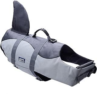 BFLIfe Dog Life Jacket Shark Adjustable Pet Swimming Vest for Dogs