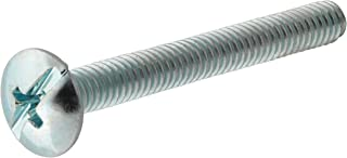 The Hillman Group The Hillman Group 1125 Aluminum Round Head Slotted Machine Screw 6-32 x 3//4 in 40-Pack