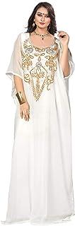KoC Women wear Kaftan Farasha Long Maxi Party Dress Bellydance Kimono Free Size