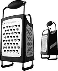 Microplane 34006 4-Sided Stainless Steel Multi-purpose tool Box Grater