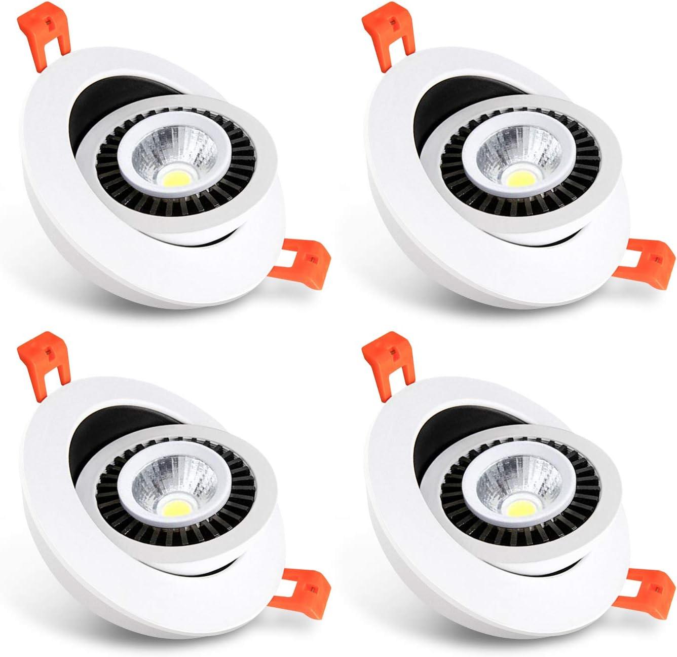 激安 激安特価 送料無料 TOARLD 3 Inch LED Recessed Lighting 5W Taich 流行 Dimmable Downlight