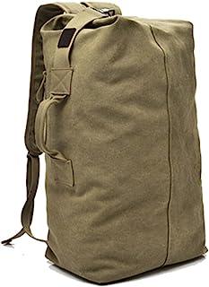 OAREA Multifunktionaler Militär-Rucksack aus Segeltuch für Herren, große Armee-Eimertasche, Outdoor-Sporttasche, Reisetasche.