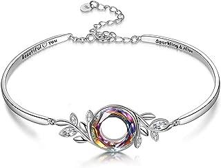Best silver floral bracelet Reviews