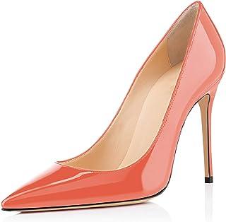 5b0d7e41f002af elashe - Escarpins Femme - 10cm Sexy Talon Aiguille - Stiletto Soir Fête  Chaussures