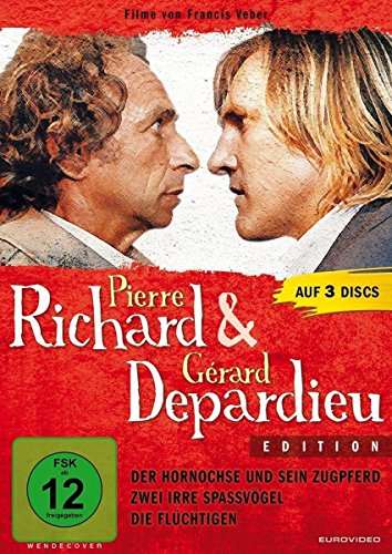 Pierre Richard & Gerard Depardieu Edition [3 DVDs]