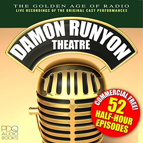 Damon Runyon Theatre Radio Shows audiobook cover art