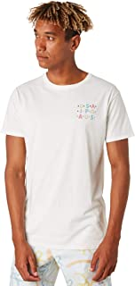 Banks Men's Nyc Mens Tee Short Sleeve Cotton White