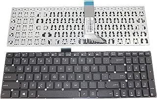 Teclado del Ordenador portátil para For ASUS A541 A541SA A541SC A541UA A541UV Color Negro Versión Estadounidense