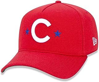 15d9f7d9a BONE 940 CHICAGO CUBS MLB ABA CURVA SNAPBACK VERMELHO NEW ERA