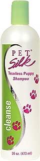 PET SILK Tearless Puppy Shampoo – Tear Free Dog Shampoo with Mild Surfactants – Gentle Formulation Pet Shampoo for Sensitive Skin - Fragrance & Dye Free (16 Ounce)