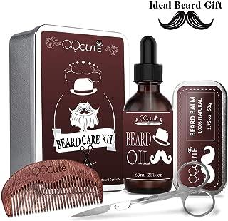 QQcute - Kit de cuidado para barba con aceite de barba