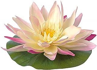 Digital Shoppy IKEA Floating Artificial Flower, in/Outdoor Water-Lily, Multicolour, 11x22 cm