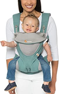 Ergobaby Carrier, 360 All Carry Positions Baby Carrier with Cool Air Mesh, Icy Mint