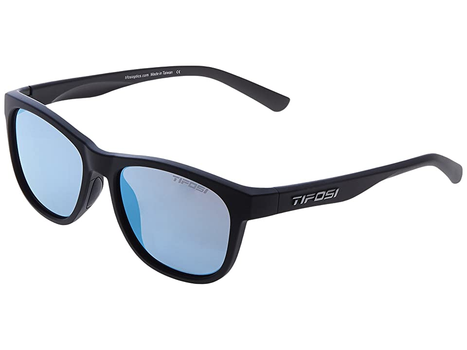 Tifosi Optics Swank (Satin Black) Athletic Performance Sport Sunglasses