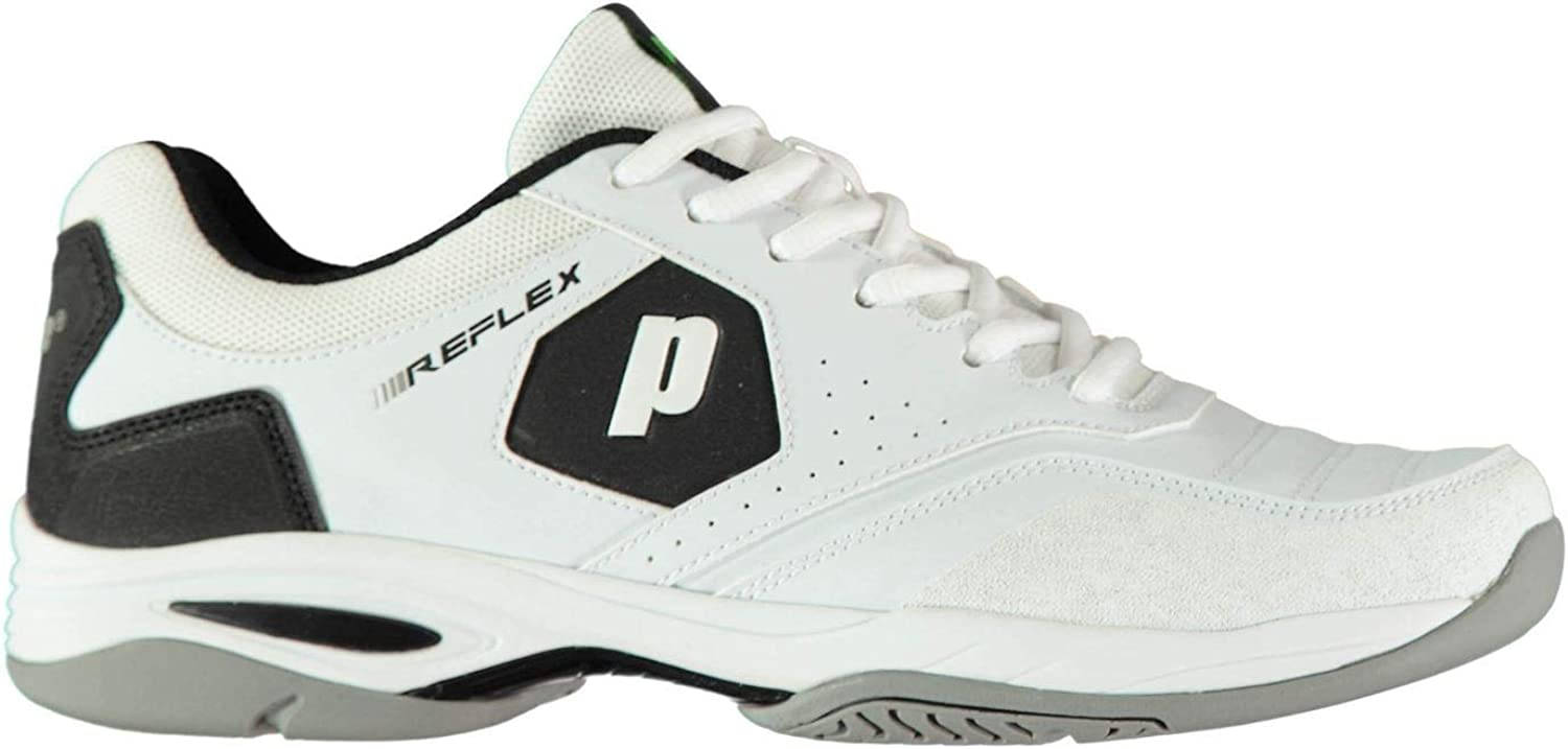 Official Prince Reflex Tennis shoes Mens White Sports Footwear Trainers Sneakers