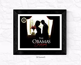 777 Tri-Seven Entertainment 2017 Barack Obama Poster 16x20 Lady Michelle Our First Family (Farewell Edition), 16