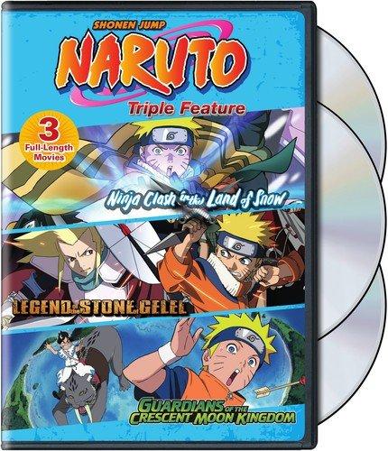 Naruto Movies Triple Feature [Edizione: Stati Uniti] [USA] [DVD]