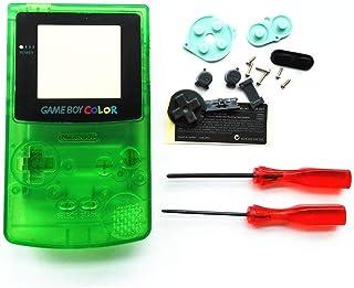 Coque de Remplacement complète avec Boutons et vis pour Nintendo Gameboy Couleur GBC-Vert Clair
