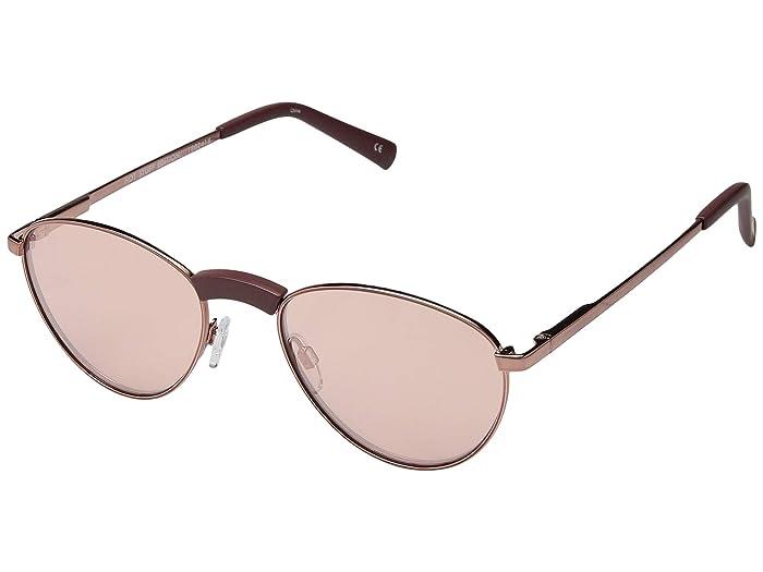 Le Specs Hot Stuff Edition (Rose Brown) Fashion Sunglasses