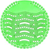 TZL Urinalsieb mit Duft 10 Stk, Universal Urinal Einsatz Mit Spritzschutz,Pissoirsiebfür jedes Pissoir und Urinal,Lufterfrischer (Green-10pack)