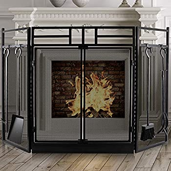 Best wood panel fireplace Reviews