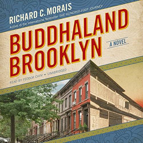 Buddhaland Brooklyn audiobook cover art