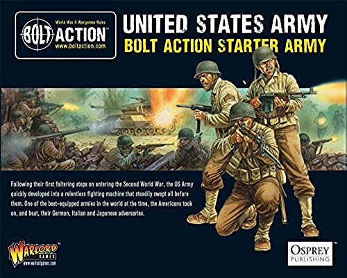 Bolt Action Starter Army American Miniatures by Bolt Action