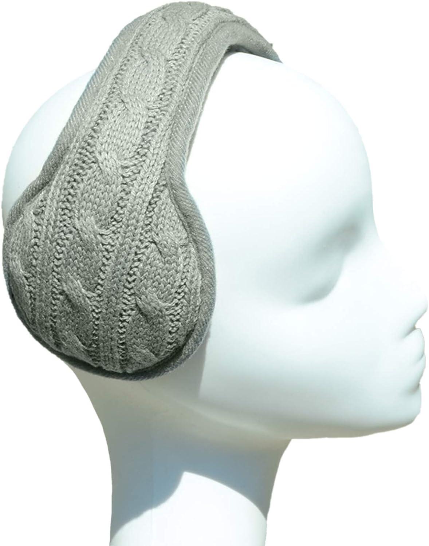 Unisex Foldable Ear Warmers Winter EarMuffs Soft & Warm Furry Fleece Earmuffs Ear Covers for Cold Weather