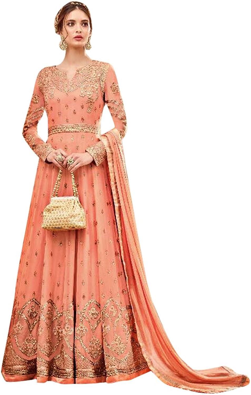 Bollywood Anarkali Dresses for women Salwar Kameez Ceremony Wedding 908 2
