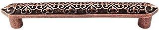 Vicenza Designs P1300 Fleur de Lis 6-Inch Pull, Antique Copper