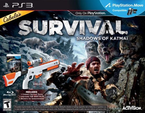 Cabelas Survival: Shadows of Katmai W/Gun - Playstation 3