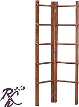 Raj Handicraft Sheesham Wood Floor Mounted Clothes Drying Stand | Cloth Dry Stand | Rain Cloth Dry Stand | Wooden Cloth Dry Stand