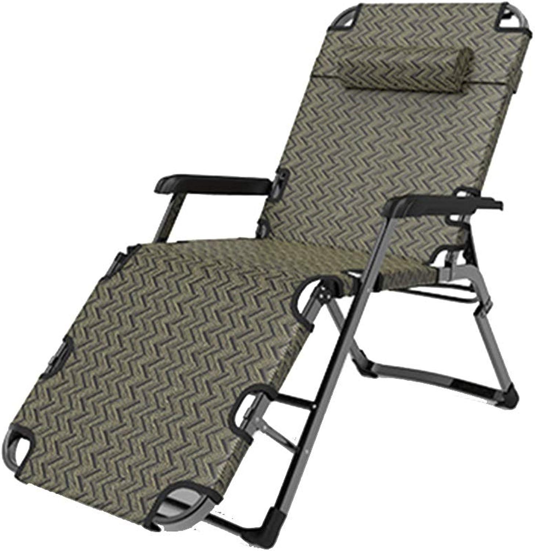Campingliege Liegestühle Nap Betten Strandstühle Multifunktionale Rückenlehne Tragbare Stühle Home (Größe   C)