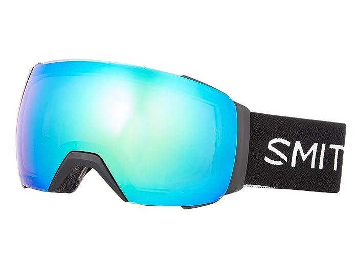 I/O Mag XL  Shoes (Black/Chromapop Everyday Green Mirror/Chromapop Storm Yellow Fla) Goggles